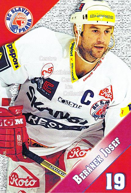 2004-05 Czech HC Slavia Praha Postcards #2 Josef Beranek<br/>4 In Stock - $3.00 each - <a href=https://centericecollectibles.foxycart.com/cart?name=2004-05%20Czech%20HC%20Slavia%20Praha%20Postcards%20%232%20Josef%20Beranek...&price=$3.00&code=121578 class=foxycart> Buy it now! </a>