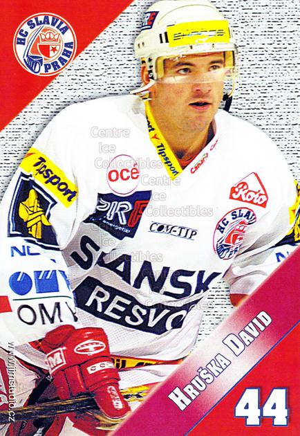 2004-05 Czech HC Slavia Praha Postcards #5 David Hruska<br/>4 In Stock - $3.00 each - <a href=https://centericecollectibles.foxycart.com/cart?name=2004-05%20Czech%20HC%20Slavia%20Praha%20Postcards%20%235%20David%20Hruska...&price=$3.00&code=121581 class=foxycart> Buy it now! </a>
