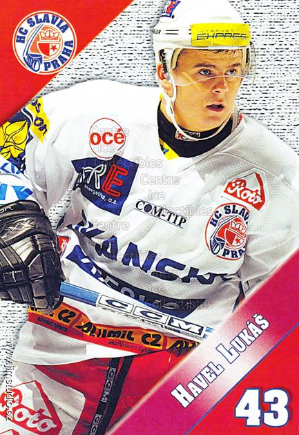 2004-05 Czech HC Slavia Praha Postcards #4 Lukas Havel<br/>4 In Stock - $3.00 each - <a href=https://centericecollectibles.foxycart.com/cart?name=2004-05%20Czech%20HC%20Slavia%20Praha%20Postcards%20%234%20Lukas%20Havel...&quantity_max=4&price=$3.00&code=121583 class=foxycart> Buy it now! </a>