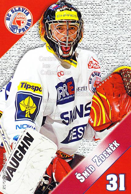 2004-05 Czech HC Slavia Praha Postcards #10 Zdenek Smid<br/>2 In Stock - $3.00 each - <a href=https://centericecollectibles.foxycart.com/cart?name=2004-05%20Czech%20HC%20Slavia%20Praha%20Postcards%20%2310%20Zdenek%20Smid...&price=$3.00&code=121584 class=foxycart> Buy it now! </a>