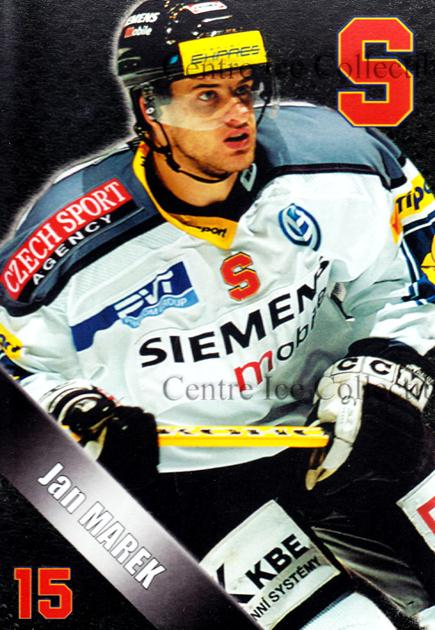 2004-05 Czech HC Sparta Praha Postcards #11 Jan Marek<br/>4 In Stock - $3.00 each - <a href=https://centericecollectibles.foxycart.com/cart?name=2004-05%20Czech%20HC%20Sparta%20Praha%20Postcards%20%2311%20Jan%20Marek...&quantity_max=4&price=$3.00&code=121590 class=foxycart> Buy it now! </a>