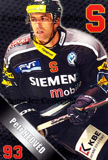 2004-05 Czech HC Sparta Praha Postcards #12 Petr Nedved<br/>6 In Stock - $3.00 each - <a href=https://centericecollectibles.foxycart.com/cart?name=2004-05%20Czech%20HC%20Sparta%20Praha%20Postcards%20%2312%20Petr%20Nedved...&quantity_max=6&price=$3.00&code=121591 class=foxycart> Buy it now! </a>