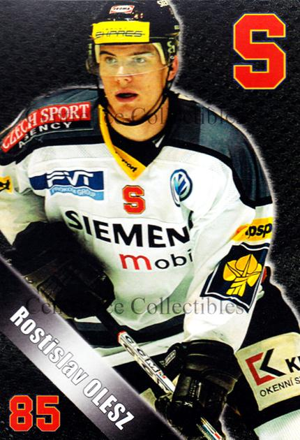 2004-05 Czech HC Sparta Praha Postcards #14 Rostislav Olesz<br/>5 In Stock - $3.00 each - <a href=https://centericecollectibles.foxycart.com/cart?name=2004-05%20Czech%20HC%20Sparta%20Praha%20Postcards%20%2314%20Rostislav%20Olesz...&quantity_max=5&price=$3.00&code=121593 class=foxycart> Buy it now! </a>