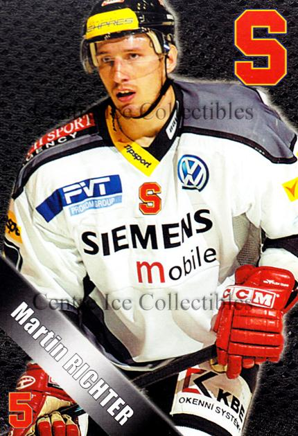 2004-05 Czech HC Sparta Praha Postcards #19 Martin Richter<br/>4 In Stock - $3.00 each - <a href=https://centericecollectibles.foxycart.com/cart?name=2004-05%20Czech%20HC%20Sparta%20Praha%20Postcards%20%2319%20Martin%20Richter...&quantity_max=4&price=$3.00&code=121597 class=foxycart> Buy it now! </a>