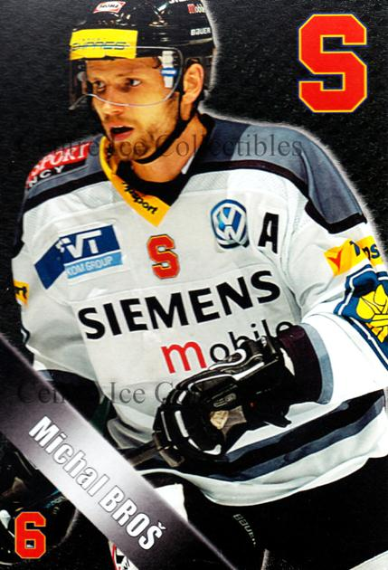 2004-05 Czech HC Sparta Praha Postcards #2 Michal Bros<br/>5 In Stock - $3.00 each - <a href=https://centericecollectibles.foxycart.com/cart?name=2004-05%20Czech%20HC%20Sparta%20Praha%20Postcards%20%232%20Michal%20Bros...&quantity_max=5&price=$3.00&code=121598 class=foxycart> Buy it now! </a>