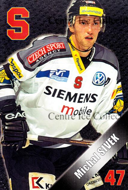 2004-05 Czech HC Sparta Praha Postcards #22 Michal Sivek<br/>6 In Stock - $3.00 each - <a href=https://centericecollectibles.foxycart.com/cart?name=2004-05%20Czech%20HC%20Sparta%20Praha%20Postcards%20%2322%20Michal%20Sivek...&quantity_max=6&price=$3.00&code=121601 class=foxycart> Buy it now! </a>