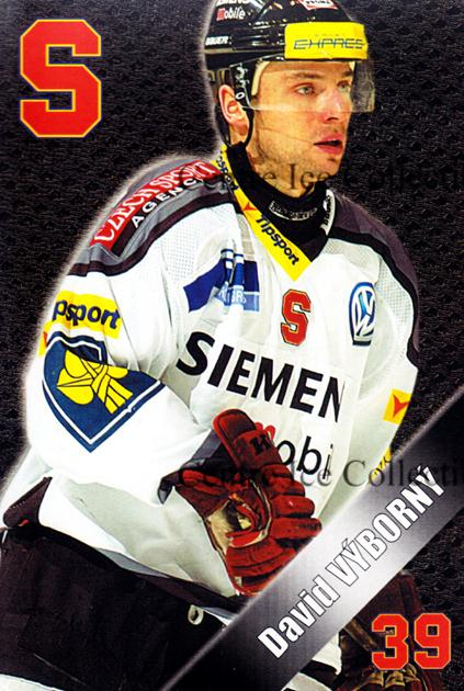 2004-05 Czech HC Sparta Praha Postcards #24 David Vyborny<br/>3 In Stock - $3.00 each - <a href=https://centericecollectibles.foxycart.com/cart?name=2004-05%20Czech%20HC%20Sparta%20Praha%20Postcards%20%2324%20David%20Vyborny...&quantity_max=3&price=$3.00&code=121603 class=foxycart> Buy it now! </a>