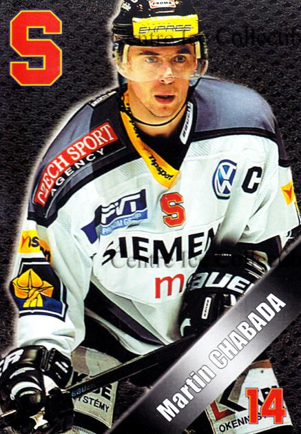 2004-05 Czech HC Sparta Praha Postcards #3 Martin Chabada<br/>5 In Stock - $3.00 each - <a href=https://centericecollectibles.foxycart.com/cart?name=2004-05%20Czech%20HC%20Sparta%20Praha%20Postcards%20%233%20Martin%20Chabada...&quantity_max=5&price=$3.00&code=121604 class=foxycart> Buy it now! </a>