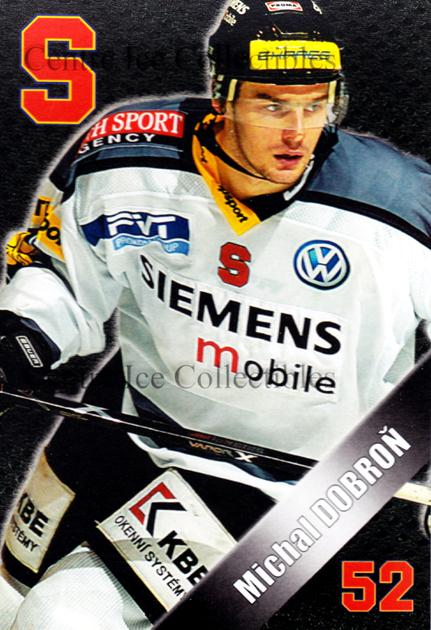 2004-05 Czech HC Sparta Praha Postcards #4 Michal Dobron<br/>5 In Stock - $3.00 each - <a href=https://centericecollectibles.foxycart.com/cart?name=2004-05%20Czech%20HC%20Sparta%20Praha%20Postcards%20%234%20Michal%20Dobron...&quantity_max=5&price=$3.00&code=121605 class=foxycart> Buy it now! </a>