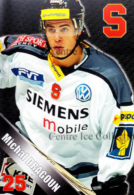 2004-05 Czech HC Sparta Praha Postcards #5 Michal Dragoun<br/>6 In Stock - $3.00 each - <a href=https://centericecollectibles.foxycart.com/cart?name=2004-05%20Czech%20HC%20Sparta%20Praha%20Postcards%20%235%20Michal%20Dragoun...&quantity_max=6&price=$3.00&code=121606 class=foxycart> Buy it now! </a>