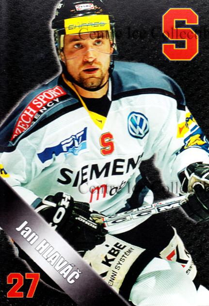 2004-05 Czech HC Sparta Praha Postcards #7 Jan Hlavac<br/>5 In Stock - $3.00 each - <a href=https://centericecollectibles.foxycart.com/cart?name=2004-05%20Czech%20HC%20Sparta%20Praha%20Postcards%20%237%20Jan%20Hlavac...&quantity_max=5&price=$3.00&code=121608 class=foxycart> Buy it now! </a>