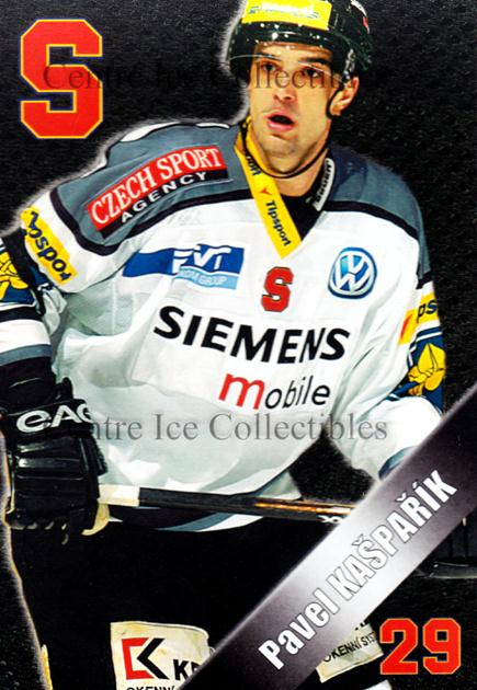 2004-05 Czech HC Sparta Praha Postcards #8 Pavel Kasparik<br/>5 In Stock - $3.00 each - <a href=https://centericecollectibles.foxycart.com/cart?name=2004-05%20Czech%20HC%20Sparta%20Praha%20Postcards%20%238%20Pavel%20Kasparik...&quantity_max=5&price=$3.00&code=121609 class=foxycart> Buy it now! </a>
