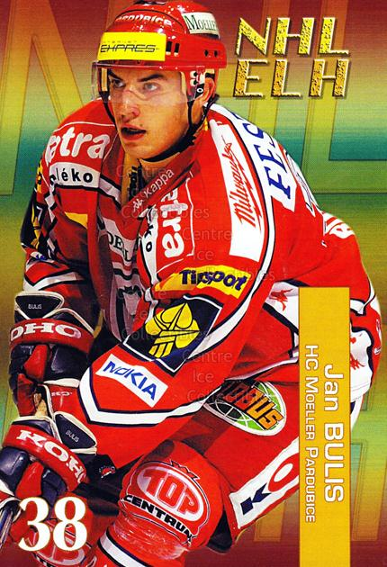 2004-05 Czech NHL ELH Postcards #1 Jan Bulis<br/>6 In Stock - $3.00 each - <a href=https://centericecollectibles.foxycart.com/cart?name=2004-05%20Czech%20NHL%20ELH%20Postcards%20%231%20Jan%20Bulis...&quantity_max=6&price=$3.00&code=121611 class=foxycart> Buy it now! </a>