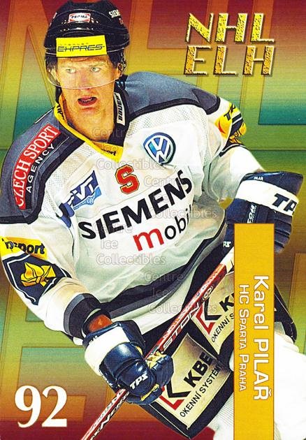 2004-05 Czech NHL ELH Postcards #10 Karel Pilar<br/>7 In Stock - $3.00 each - <a href=https://centericecollectibles.foxycart.com/cart?name=2004-05%20Czech%20NHL%20ELH%20Postcards%20%2310%20Karel%20Pilar...&quantity_max=7&price=$3.00&code=121612 class=foxycart> Buy it now! </a>