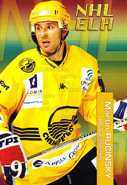 2004-05 Czech NHL ELH Postcards #12 Martin Rucinsky<br/>6 In Stock - $3.00 each - <a href=https://centericecollectibles.foxycart.com/cart?name=2004-05%20Czech%20NHL%20ELH%20Postcards%20%2312%20Martin%20Rucinsky...&quantity_max=6&price=$3.00&code=121614 class=foxycart> Buy it now! </a>