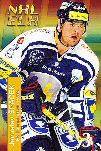 2004-05 Czech NHL ELH Postcards #14 Jaroslav Spacek<br/>7 In Stock - $3.00 each - <a href=https://centericecollectibles.foxycart.com/cart?name=2004-05%20Czech%20NHL%20ELH%20Postcards%20%2314%20Jaroslav%20Spacek...&quantity_max=7&price=$3.00&code=121616 class=foxycart> Buy it now! </a>