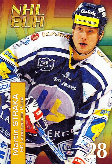 2004-05 Czech NHL ELH Postcards #15 Martin Straka<br/>5 In Stock - $3.00 each - <a href=https://centericecollectibles.foxycart.com/cart?name=2004-05%20Czech%20NHL%20ELH%20Postcards%20%2315%20Martin%20Straka...&quantity_max=5&price=$3.00&code=121617 class=foxycart> Buy it now! </a>