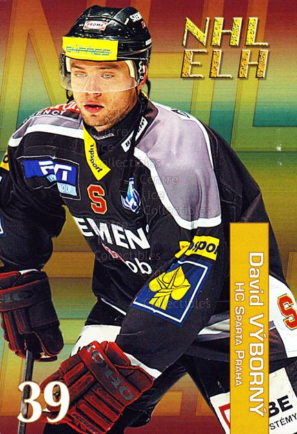 2004-05 Czech NHL ELH Postcards #16 David Vyborny<br/>5 In Stock - $3.00 each - <a href=https://centericecollectibles.foxycart.com/cart?name=2004-05%20Czech%20NHL%20ELH%20Postcards%20%2316%20David%20Vyborny...&quantity_max=5&price=$3.00&code=121618 class=foxycart> Buy it now! </a>