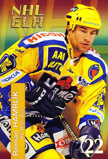 2004-05 Czech NHL ELH Postcards #3 Roman Hamrlik<br/>3 In Stock - $3.00 each - <a href=https://centericecollectibles.foxycart.com/cart?name=2004-05%20Czech%20NHL%20ELH%20Postcards%20%233%20Roman%20Hamrlik...&quantity_max=3&price=$3.00&code=121620 class=foxycart> Buy it now! </a>