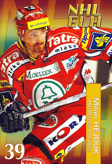 2004-05 Czech NHL ELH Postcards #4 Milan Hejduk<br/>5 In Stock - $3.00 each - <a href=https://centericecollectibles.foxycart.com/cart?name=2004-05%20Czech%20NHL%20ELH%20Postcards%20%234%20Milan%20Hejduk...&quantity_max=5&price=$3.00&code=121621 class=foxycart> Buy it now! </a>
