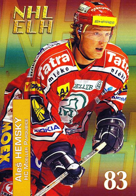 2004-05 Czech NHL ELH Postcards #5 Ales Hemsky<br/>5 In Stock - $3.00 each - <a href=https://centericecollectibles.foxycart.com/cart?name=2004-05%20Czech%20NHL%20ELH%20Postcards%20%235%20Ales%20Hemsky...&quantity_max=5&price=$3.00&code=121622 class=foxycart> Buy it now! </a>