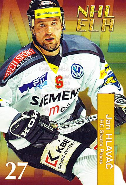 2004-05 Czech NHL ELH Postcards #6 Jan Hlavac<br/>6 In Stock - $3.00 each - <a href=https://centericecollectibles.foxycart.com/cart?name=2004-05%20Czech%20NHL%20ELH%20Postcards%20%236%20Jan%20Hlavac...&quantity_max=6&price=$3.00&code=121623 class=foxycart> Buy it now! </a>