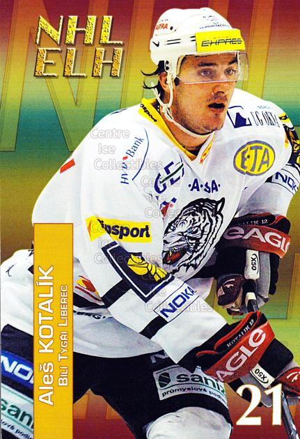 2004-05 Czech NHL ELH Postcards #8 Ales Kotalik<br/>6 In Stock - $3.00 each - <a href=https://centericecollectibles.foxycart.com/cart?name=2004-05%20Czech%20NHL%20ELH%20Postcards%20%238%20Ales%20Kotalik...&quantity_max=6&price=$3.00&code=121625 class=foxycart> Buy it now! </a>