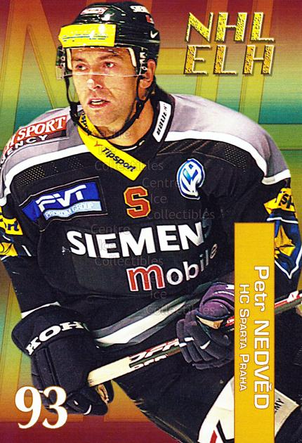2004-05 Czech NHL ELH Postcards #9 Petr Nedved<br/>6 In Stock - $3.00 each - <a href=https://centericecollectibles.foxycart.com/cart?name=2004-05%20Czech%20NHL%20ELH%20Postcards%20%239%20Petr%20Nedved...&quantity_max=6&price=$3.00&code=121626 class=foxycart> Buy it now! </a>