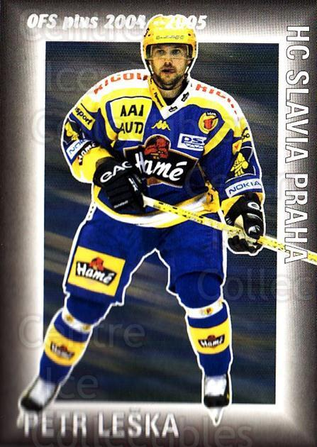 2004-05 Czech OFS Assist Leaders #2 Petr Leska<br/>6 In Stock - $2.00 each - <a href=https://centericecollectibles.foxycart.com/cart?name=2004-05%20Czech%20OFS%20Assist%20Leaders%20%232%20Petr%20Leska...&quantity_max=6&price=$2.00&code=121632 class=foxycart> Buy it now! </a>