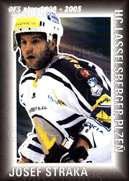 2004-05 Czech OFS Assist Leaders #4 Josef Straka<br/>3 In Stock - $2.00 each - <a href=https://centericecollectibles.foxycart.com/cart?name=2004-05%20Czech%20OFS%20Assist%20Leaders%20%234%20Josef%20Straka...&quantity_max=3&price=$2.00&code=121634 class=foxycart> Buy it now! </a>