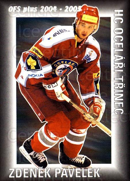 2004-05 Czech OFS Assist Leaders #6 Zdenek Pavelek<br/>4 In Stock - $2.00 each - <a href=https://centericecollectibles.foxycart.com/cart?name=2004-05%20Czech%20OFS%20Assist%20Leaders%20%236%20Zdenek%20Pavelek...&quantity_max=4&price=$2.00&code=121636 class=foxycart> Buy it now! </a>
