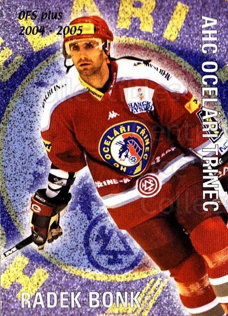 2004-05 Czech OFS Checklist Cards #10 Radek Bonk, Checklist<br/>4 In Stock - $2.00 each - <a href=https://centericecollectibles.foxycart.com/cart?name=2004-05%20Czech%20OFS%20Checklist%20Cards%20%2310%20Radek%20Bonk,%20Che...&quantity_max=4&price=$2.00&code=121640 class=foxycart> Buy it now! </a>