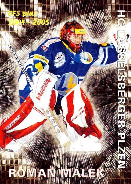 2004-05 Czech OFS Save Percentage Leaders #5 Roman Malek<br/>2 In Stock - $2.00 each - <a href=https://centericecollectibles.foxycart.com/cart?name=2004-05%20Czech%20OFS%20Save%20Percentage%20Leaders%20%235%20Roman%20Malek...&quantity_max=2&price=$2.00&code=121699 class=foxycart> Buy it now! </a>