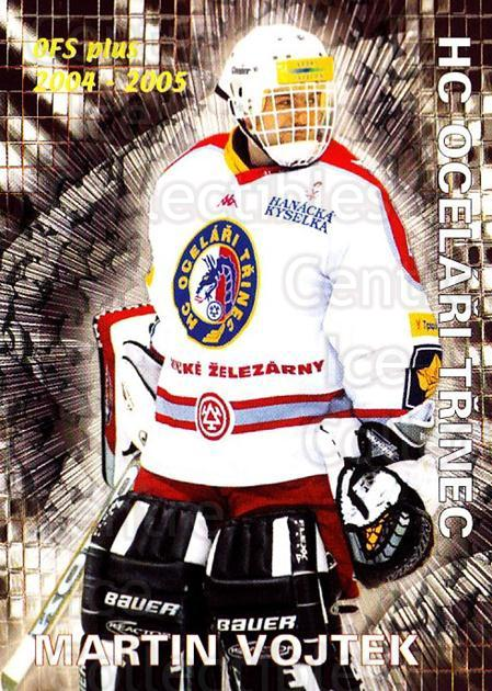 2004-05 Czech OFS Save Percentage Leaders #9 Martin Vojtek<br/>4 In Stock - $2.00 each - <a href=https://centericecollectibles.foxycart.com/cart?name=2004-05%20Czech%20OFS%20Save%20Percentage%20Leaders%20%239%20Martin%20Vojtek...&quantity_max=4&price=$2.00&code=121702 class=foxycart> Buy it now! </a>