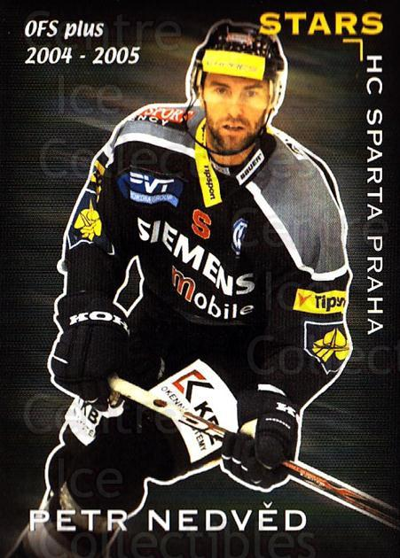 2004-05 Czech OFS Stars #26 Petr Nedved<br/>4 In Stock - $2.00 each - <a href=https://centericecollectibles.foxycart.com/cart?name=2004-05%20Czech%20OFS%20Stars%20%2326%20Petr%20Nedved...&quantity_max=4&price=$2.00&code=121725 class=foxycart> Buy it now! </a>