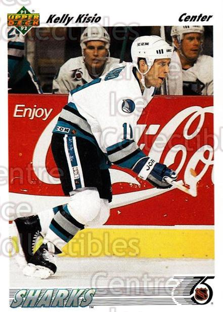 1991-92 Upper Deck #515 Kelly Kisio<br/>11 In Stock - $1.00 each - <a href=https://centericecollectibles.foxycart.com/cart?name=1991-92%20Upper%20Deck%20%23515%20Kelly%20Kisio...&quantity_max=11&price=$1.00&code=12179 class=foxycart> Buy it now! </a>