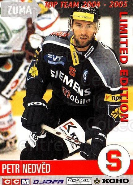 2004-05 Czech OFS Zuma Top Team #39 Petr Nedved<br/>3 In Stock - $3.00 each - <a href=https://centericecollectibles.foxycart.com/cart?name=2004-05%20Czech%20OFS%20Zuma%20Top%20Team%20%2339%20Petr%20Nedved...&quantity_max=3&price=$3.00&code=121941 class=foxycart> Buy it now! </a>
