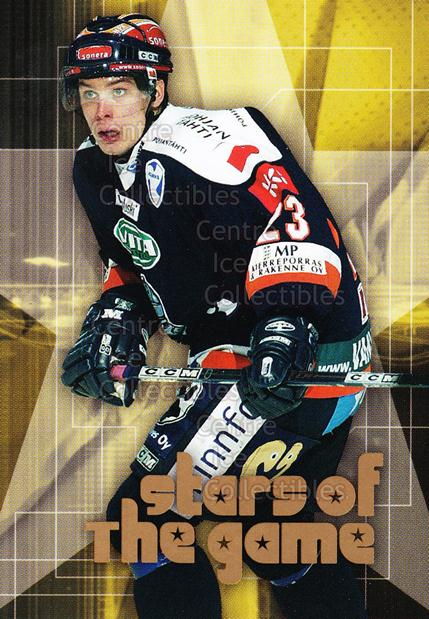 2004-05 Finnish Cardset Stars of the Game #1 Riku Hahl<br/>6 In Stock - $3.00 each - <a href=https://centericecollectibles.foxycart.com/cart?name=2004-05%20Finnish%20Cardset%20Stars%20of%20the%20Game%20%231%20Riku%20Hahl...&quantity_max=6&price=$3.00&code=121974 class=foxycart> Buy it now! </a>