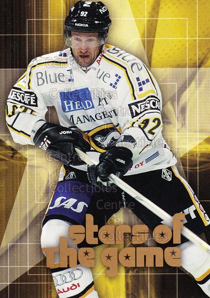 2004-05 Finnish Cardset Stars of the Game #10 Michael Nylander<br/>4 In Stock - $3.00 each - <a href=https://centericecollectibles.foxycart.com/cart?name=2004-05%20Finnish%20Cardset%20Stars%20of%20the%20Game%20%2310%20Michael%20Nylande...&quantity_max=4&price=$3.00&code=121975 class=foxycart> Buy it now! </a>