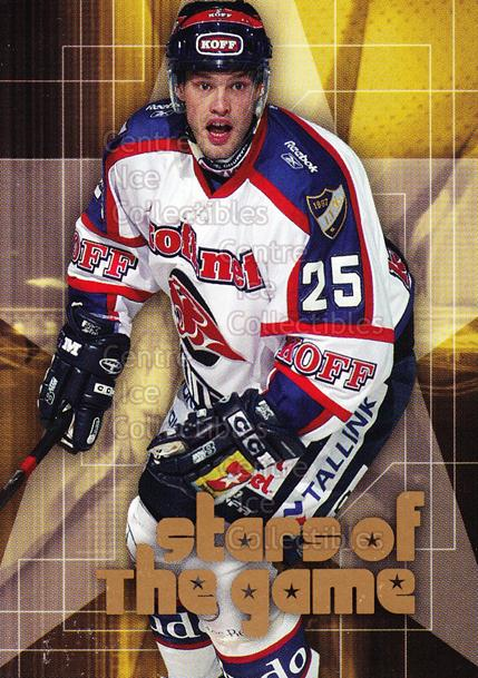 2004-05 Finnish Cardset Stars of the Game #11 Jarkko Ruutu<br/>2 In Stock - $3.00 each - <a href=https://centericecollectibles.foxycart.com/cart?name=2004-05%20Finnish%20Cardset%20Stars%20of%20the%20Game%20%2311%20Jarkko%20Ruutu...&quantity_max=2&price=$3.00&code=121976 class=foxycart> Buy it now! </a>