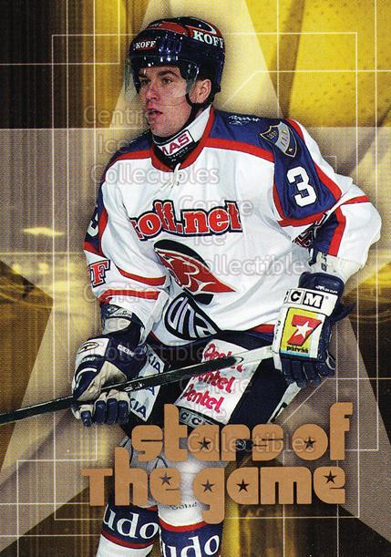 2004-05 Finnish Cardset Stars of the Game #14 Marek Zidlicky<br/>1 In Stock - $3.00 each - <a href=https://centericecollectibles.foxycart.com/cart?name=2004-05%20Finnish%20Cardset%20Stars%20of%20the%20Game%20%2314%20Marek%20Zidlicky...&quantity_max=1&price=$3.00&code=121978 class=foxycart> Buy it now! </a>