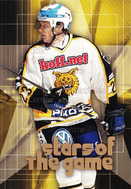 2004-05 Finnish Cardset Stars of the Game #2 Hannes Hyvonen<br/>6 In Stock - $3.00 each - <a href=https://centericecollectibles.foxycart.com/cart?name=2004-05%20Finnish%20Cardset%20Stars%20of%20the%20Game%20%232%20Hannes%20Hyvonen...&quantity_max=6&price=$3.00&code=121979 class=foxycart> Buy it now! </a>
