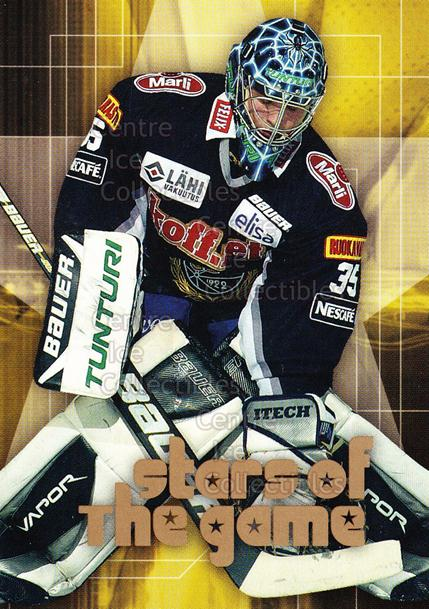 2004-05 Finnish Cardset Stars of the Game #5 Teemu Lassila<br/>5 In Stock - $3.00 each - <a href=https://centericecollectibles.foxycart.com/cart?name=2004-05%20Finnish%20Cardset%20Stars%20of%20the%20Game%20%235%20Teemu%20Lassila...&quantity_max=5&price=$3.00&code=121982 class=foxycart> Buy it now! </a>