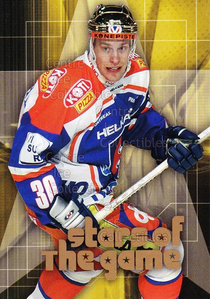 2004-05 Finnish Cardset Stars of the Game #6 Ville Nieminen<br/>6 In Stock - $3.00 each - <a href=https://centericecollectibles.foxycart.com/cart?name=2004-05%20Finnish%20Cardset%20Stars%20of%20the%20Game%20%236%20Ville%20Nieminen...&quantity_max=6&price=$3.00&code=121983 class=foxycart> Buy it now! </a>