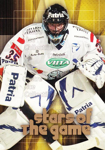 2004-05 Finnish Cardset Stars of the Game #8 Mika Noronen<br/>6 In Stock - $3.00 each - <a href=https://centericecollectibles.foxycart.com/cart?name=2004-05%20Finnish%20Cardset%20Stars%20of%20the%20Game%20%238%20Mika%20Noronen...&quantity_max=6&price=$3.00&code=121985 class=foxycart> Buy it now! </a>