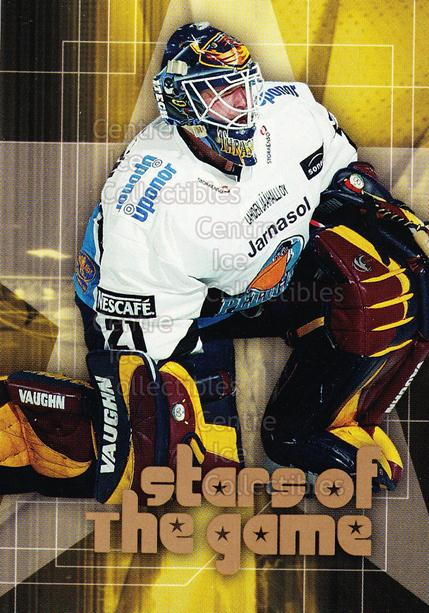 2004-05 Finnish Cardset Stars of the Game #9 Pasi Nurminen<br/>6 In Stock - $3.00 each - <a href=https://centericecollectibles.foxycart.com/cart?name=2004-05%20Finnish%20Cardset%20Stars%20of%20the%20Game%20%239%20Pasi%20Nurminen...&quantity_max=6&price=$3.00&code=121986 class=foxycart> Buy it now! </a>
