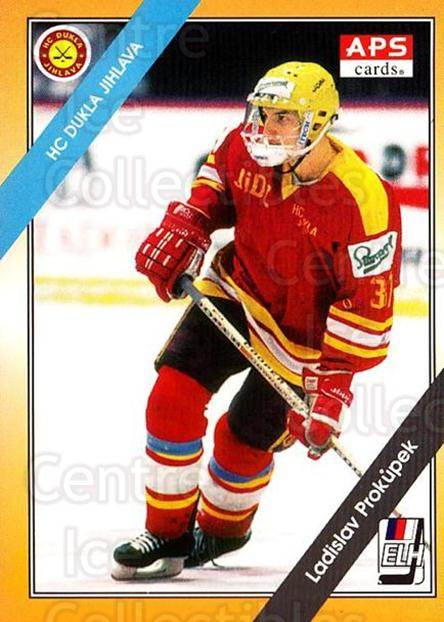1994-95 Czech APS Extraliga #176 Ladislav Prokupek<br/>8 In Stock - $2.00 each - <a href=https://centericecollectibles.foxycart.com/cart?name=1994-95%20Czech%20APS%20Extraliga%20%23176%20Ladislav%20Prokup...&quantity_max=8&price=$2.00&code=1221 class=foxycart> Buy it now! </a>