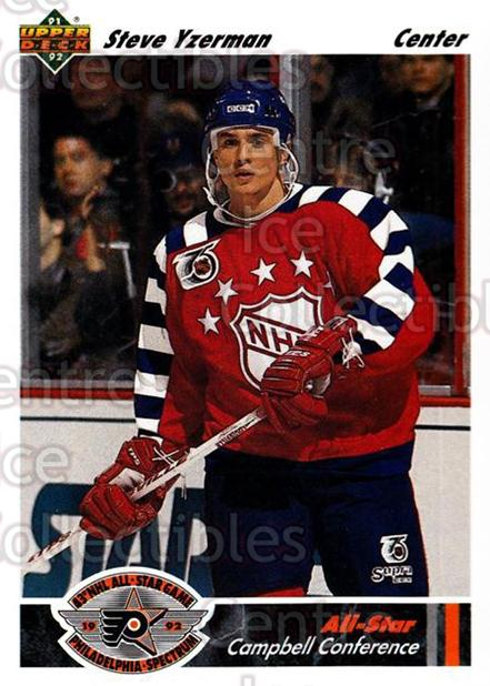 1991-92 Upper Deck #626 Steve Yzerman<br/>11 In Stock - $1.00 each - <a href=https://centericecollectibles.foxycart.com/cart?name=1991-92%20Upper%20Deck%20%23626%20Steve%20Yzerman...&price=$1.00&code=12235 class=foxycart> Buy it now! </a>
