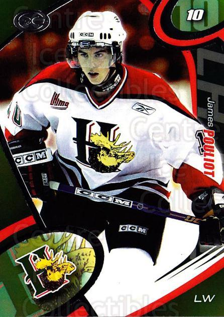 2004-05 Halifax Mooseheads #8 James Pouliot<br/>1 In Stock - $3.00 each - <a href=https://centericecollectibles.foxycart.com/cart?name=2004-05%20Halifax%20Mooseheads%20%238%20James%20Pouliot...&quantity_max=1&price=$3.00&code=122417 class=foxycart> Buy it now! </a>