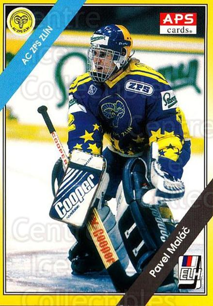 1994-95 Czech APS Extraliga #182 Pavel Malac<br/>3 In Stock - $2.00 each - <a href=https://centericecollectibles.foxycart.com/cart?name=1994-95%20Czech%20APS%20Extraliga%20%23182%20Pavel%20Malac...&quantity_max=3&price=$2.00&code=1226 class=foxycart> Buy it now! </a>